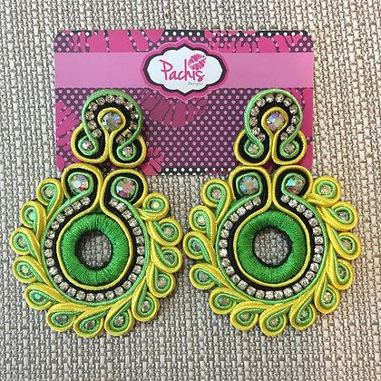 Layla ( Neon Green & Green )