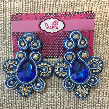 Aaeesha ( Blue & Silver )