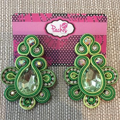 Aaeesha ( Green & Pastel Green )