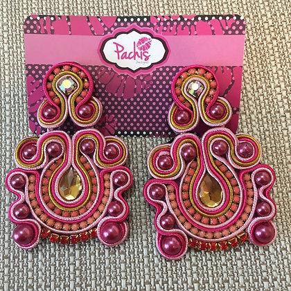 Lanika ( Pink & Gold )