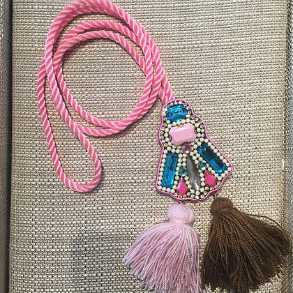 Long Necklace with Pendant
