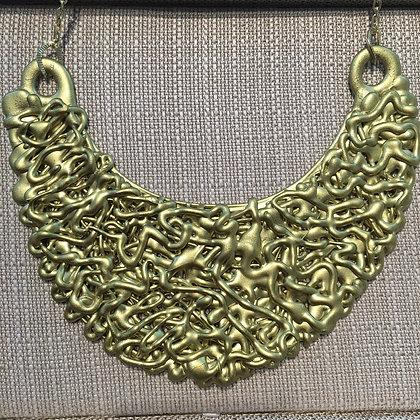 Plastic Necklace 100% Handmade ( Unique Piece)