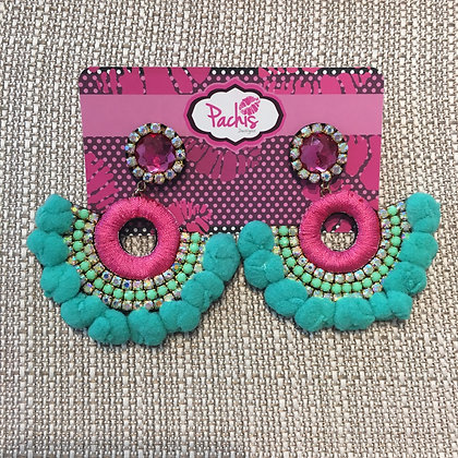 Adara Teal & Pink