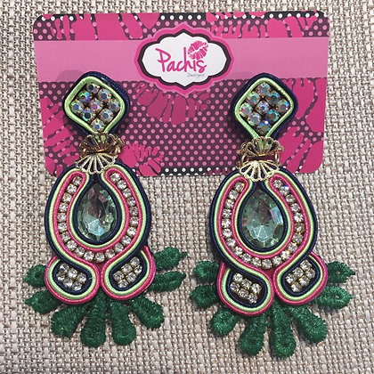 Tamadur Green & Pink