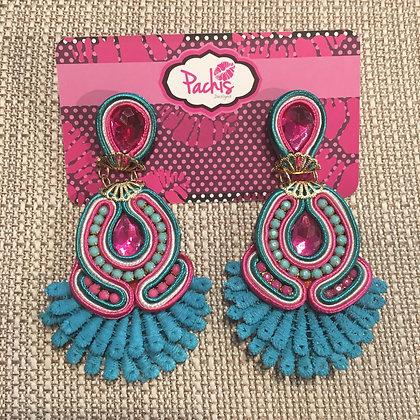Tamadur Blue & Pink