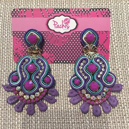 Yasirah Purple & Blue