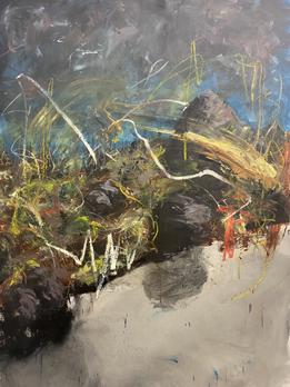 Oil on canvas 155 x 120 cm