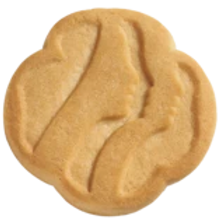 Traditional shortbread cookies.