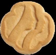 Traditional shortbread cookies.