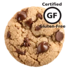 Rich caramel, semi-sweet chocolate chips, and a hint of sea salt in a chewy, gluten-free cookie.