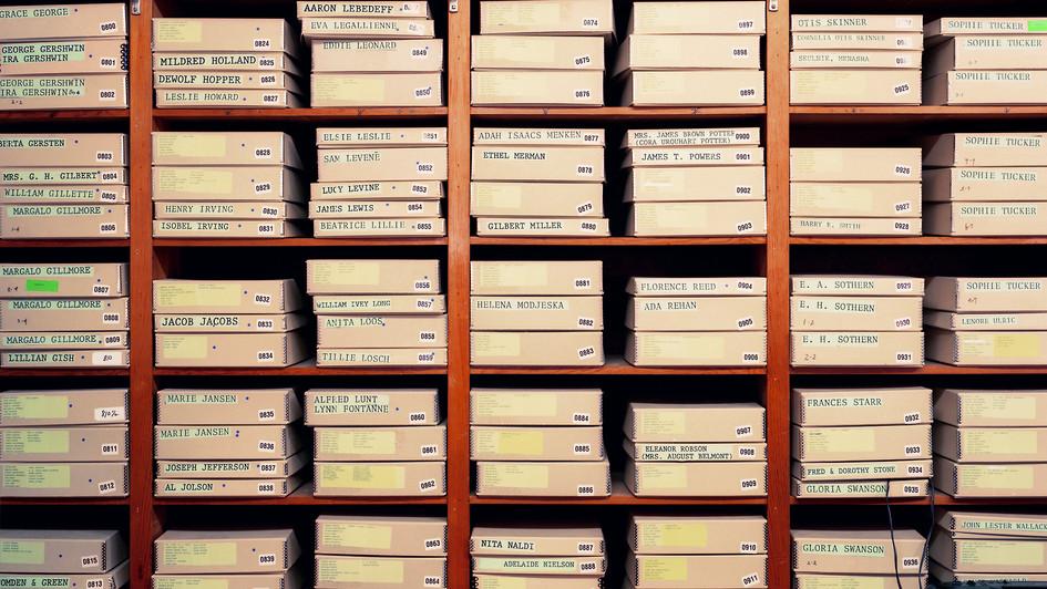 MCNY Print Storage