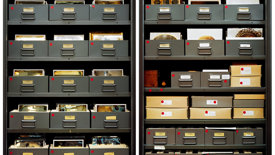 GEH Daguerreotype Cabinets, Diptych