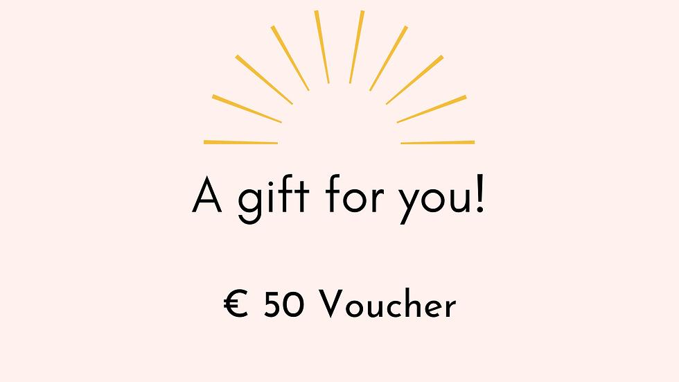 € 50 Gift Voucher