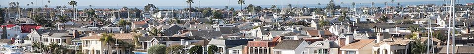 Rooftops in Newport Beach
