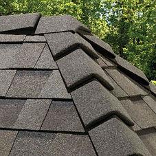 Asphalt Composition Shingle Roof Ridge