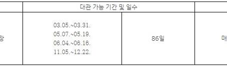 2019년 미아리고개예술극장 정기대관 공모 안내