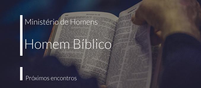Ministério de Homens: Homem Bíblico