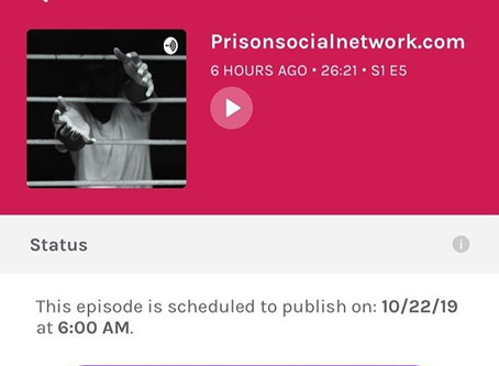 My first podcast on Life After Prison