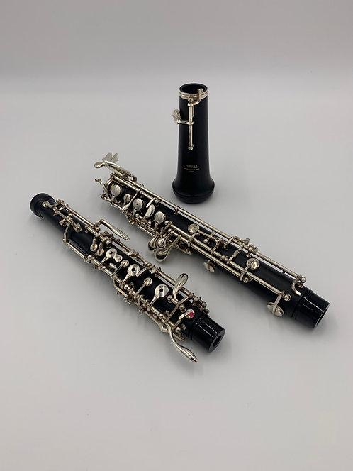 Preowned Yamaha YOB411 Synthetic Top Oboe
