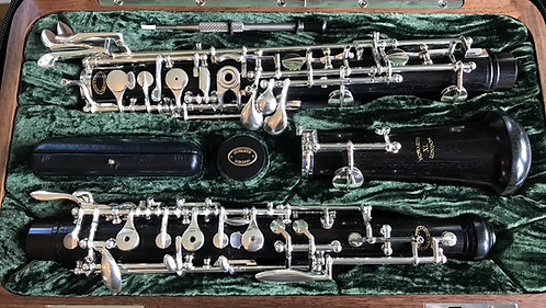 Howarth XL Oboe with VT Lined Top, Grenadilla