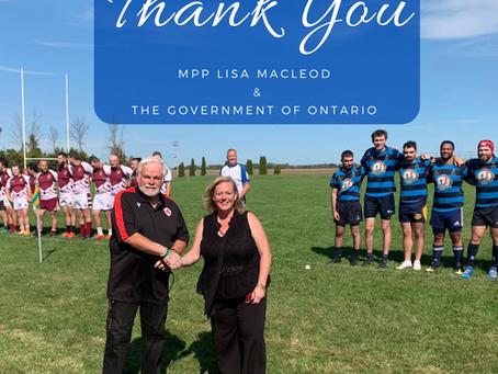 Minister Lisa MacLeod visits Twin Elm