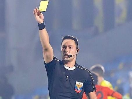 Поздравляем Александра Ануфриева с дебютом в ПФЛ в качестве главного судьи!