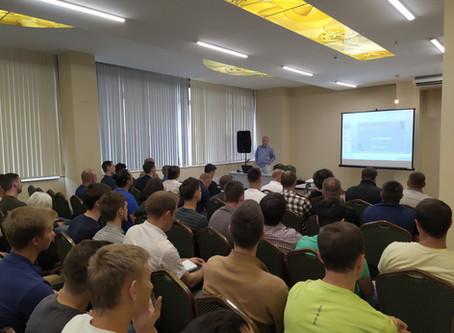 Лекция для арбитров первенства Москвы