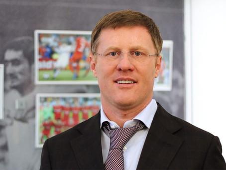Президенту Московской федерации футбола Сергею Анохину исполнилось 47 лет!