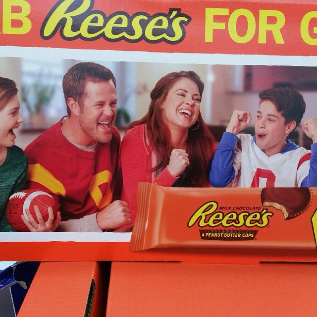 #Reeses advertisement at a #Walmart in #Florida! Thanks to _whitjb for snapping this photo for me! S