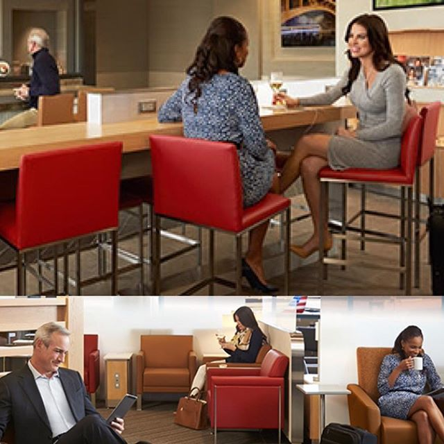 New work with _americanair for the Admirals Club. Grateful to have had the opportunity to work on th
