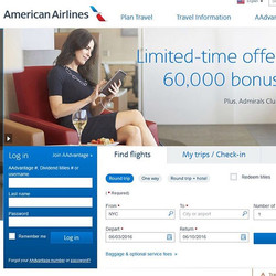 If you fly with _americanair you might see a familiar face on their website. _) God blesses me far m