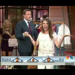 I thought I was the clear winner!! Don't you guys_ _todayshow _williegeist _tamronhall #fashion #nbc