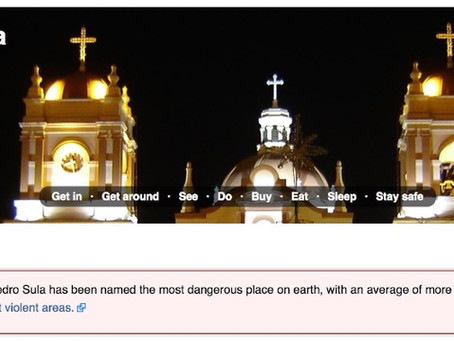 Honduras: San Pedro Sula & Roatan Island
