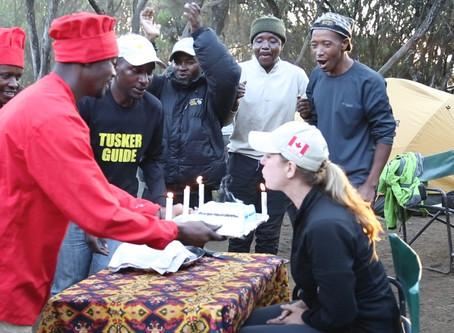 Conquering Kilimanjaro - Descent