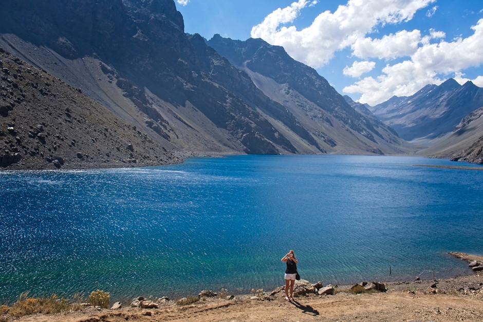 Laguna del Inca (Inca lake) at Portillo