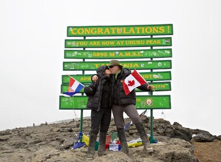 Conquering Kilimanjaro - Day 7 Summit!