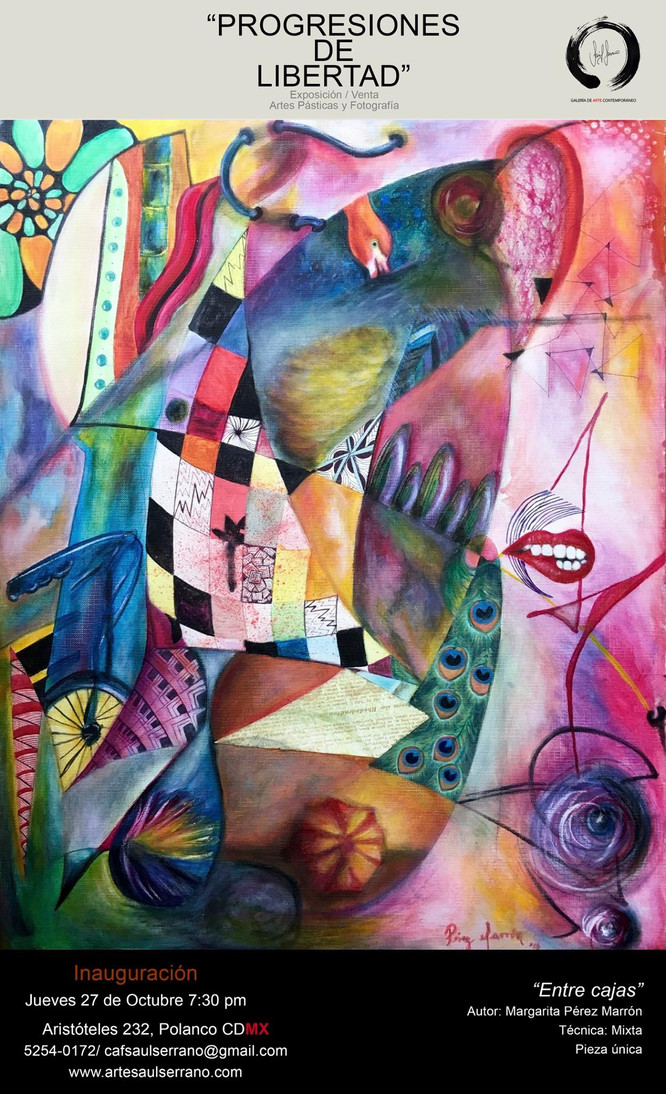 Progresiones de Libertad, Escuela de Arte Contemporáneo Saúl Serrano