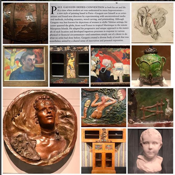 ART INSTITUTE OF CHICAGO - Paul Gaugin