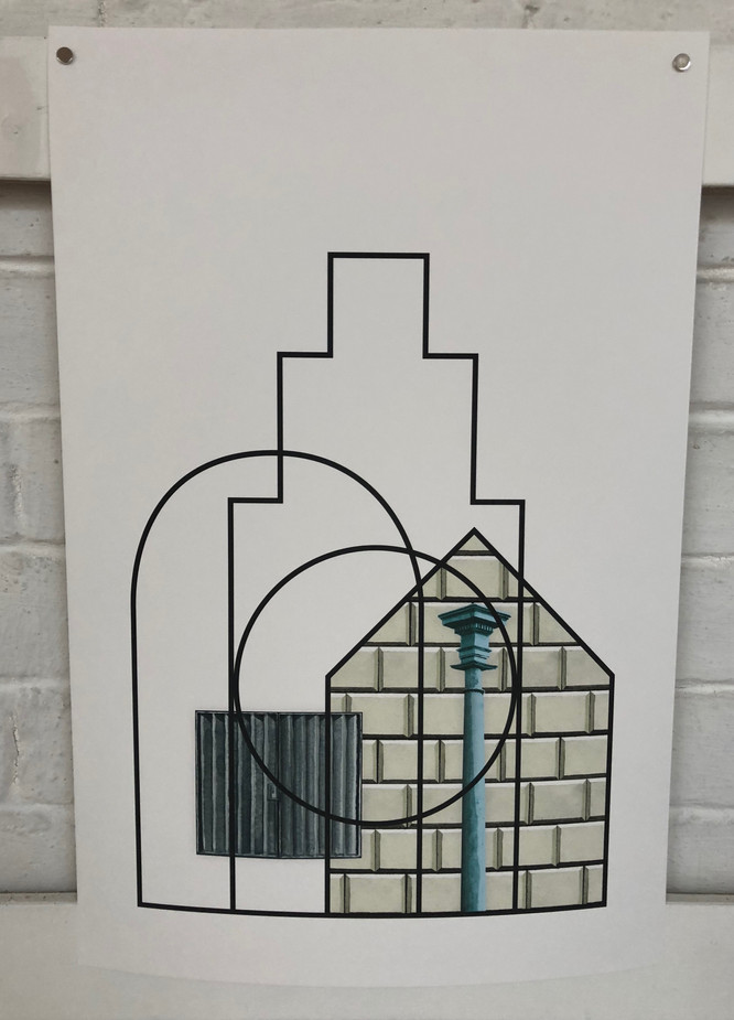 Draw Collective - Temple Church Triforium