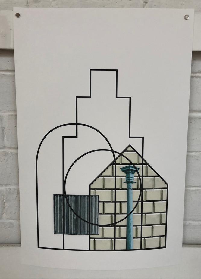 Draw Collective - Temple Church Triforium