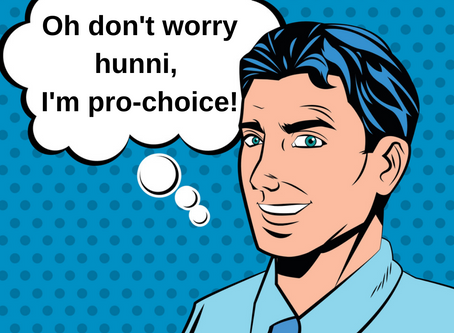 Bro-choicers, misogyny and abortion.
