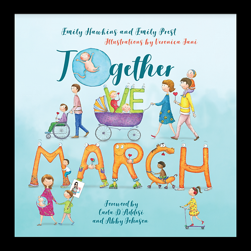 'Together We March' Pro-Life Children's Book