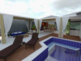 design de interiores - area de lazer