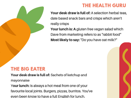 The Office Foodie Personalities