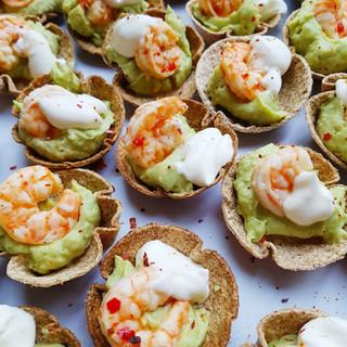Shrimp & Guacamole Canape