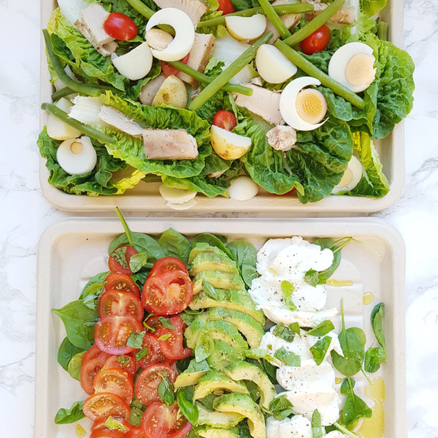 Summer Salad Selection