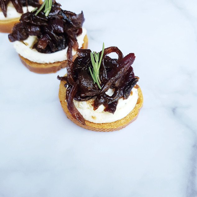 Goats Cheese Canape