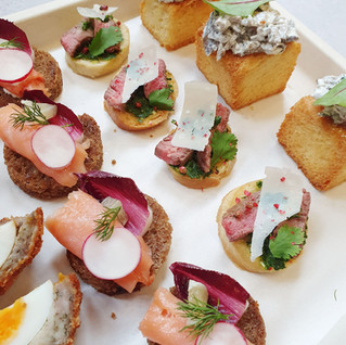 Party Canape Selection