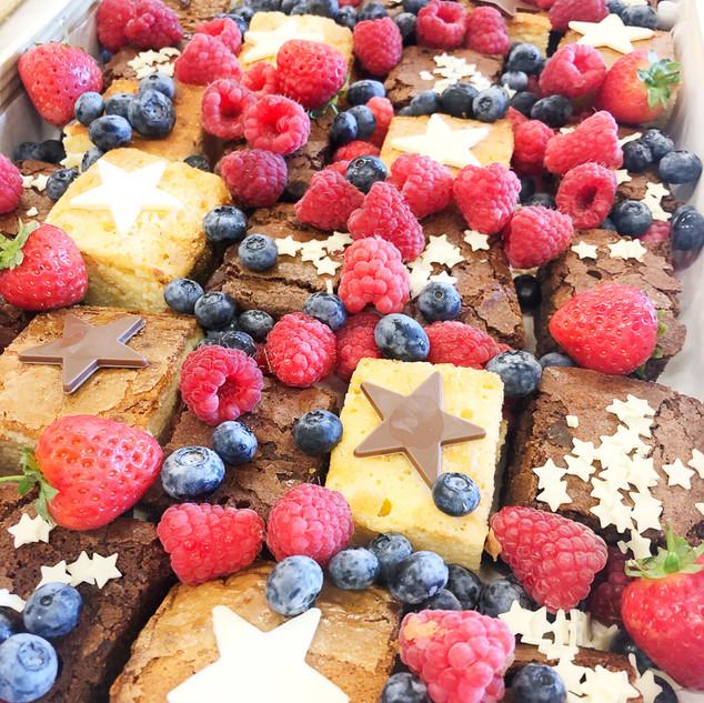Blondies , Brownies & Berries