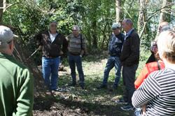 Réunion compost chez J.C Petelet